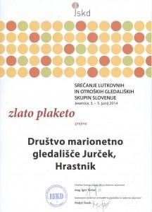 Zlata-plaketa-MGJurcek-Jesenice-2014